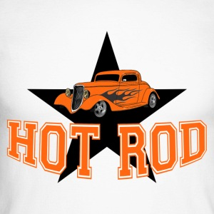 Hot Rod - T-shirt baseball manches longues Homme