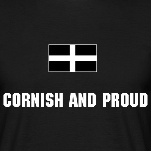 Cornish and Proud - Men's T-Shirt