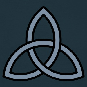 Navy triquetra Ladies' - Männer T-Shirt
