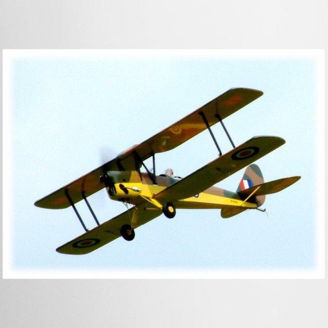RC Tiger Moth Aeroplane mug