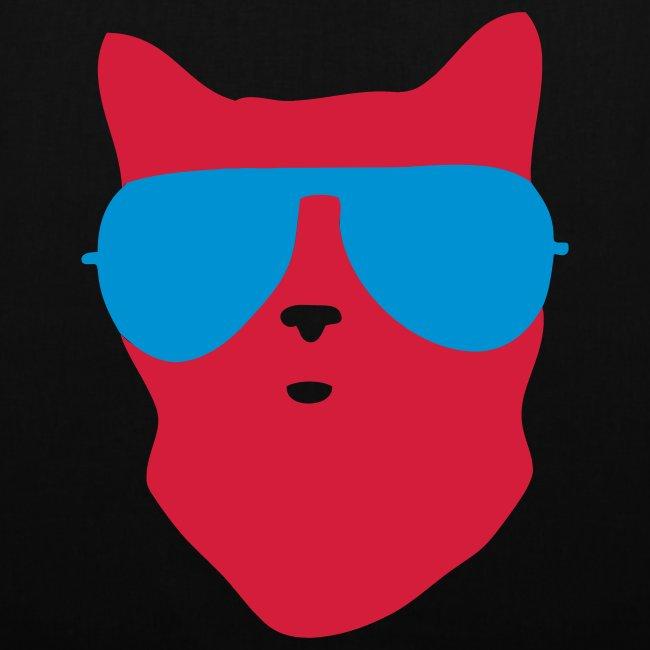 cool cat canvas bag