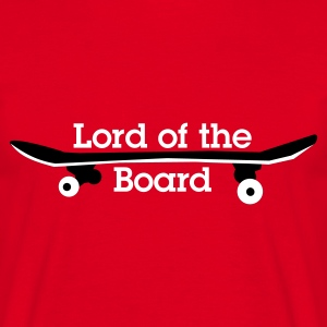 Rot lord of the board T-Shirts (Kurzarm) - Männer T-Shirt