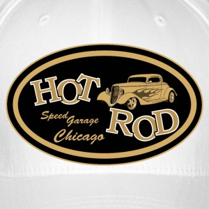 Hot Rod flaming - Casquette Flexfit