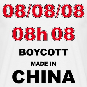 boycott made in china - T-shirt Homme