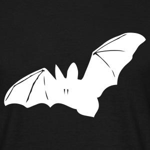 Black bat, halloween, a nightmare, cemetery, night, Vampire Men's Tees (short-sleeved) - Men's T-Shirt