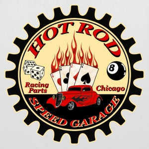 Hot Rod -vintage logo- - Tote Bag