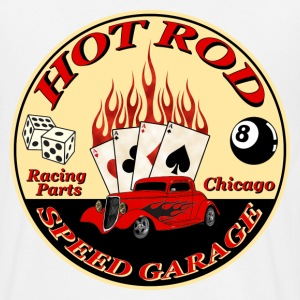 Hot Rod -vintage logo- - T-shirt Homme