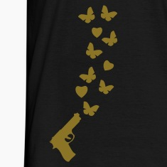 Black peace_gun1 T-Shirts