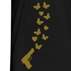 Black peace_gun1 T-Shirts - Men's T-Shirt