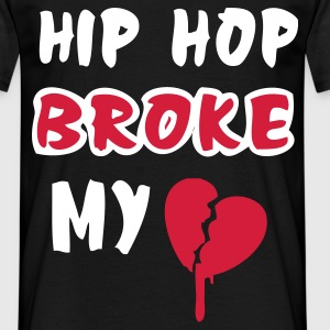 Sort newnew_brokehiphop T-shirts - Herre-T-shirt