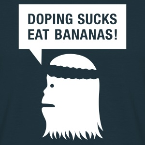 Navy doping sucks T-Shirts (Kurzarm) - Männer T-Shirt
