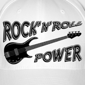 Rock 'n' Roll Power - Casquette Flexfit