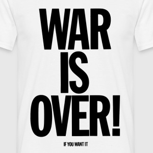 War Is Over! - Maglietta da uomo