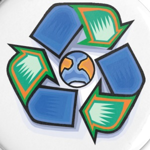 Recycle Earth - Spilla grande 56 mm