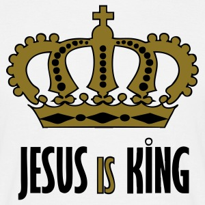 Jesus is King - Männer T-Shirt