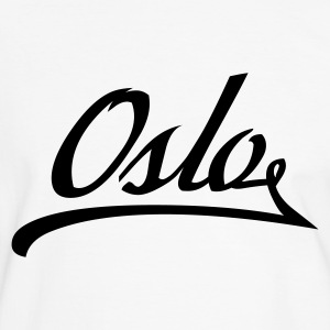 White/black geo_oslo_today_1c Men's Tees (short-sleeved) - Men's Ringer Shirt