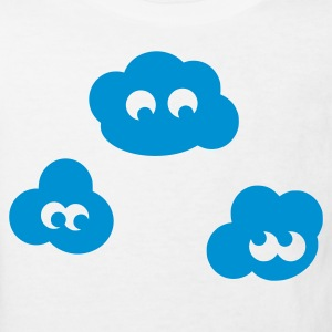 White clouds Kid's Shirts  - Kids' Organic T-shirt