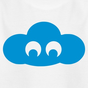 White cloud Kid's Shirts  - Teenage T-shirt