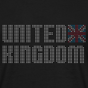Black geo_uk_dots_3c02 Men's Tees (short-sleeved) - Men's T-Shirt