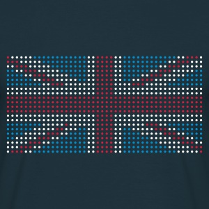 Navy geo_flag_uk_plsph_3c Men's Tees (short-sleeved) - Men's T-Shirt