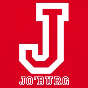 Red Jo'burg, Johannesburg, South Africa Men's Tees - Men's T-Shirt