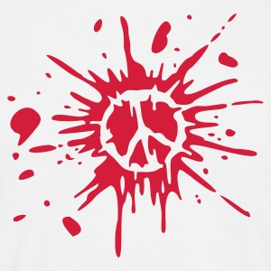 White bloody peace T-Shirt - Men's T-Shirt
