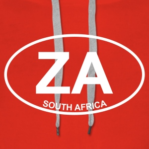 Red ZA South Africa Jumpers  - Women's Premium Hoodie