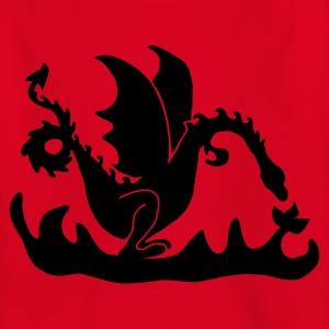 Rouge dragon T-shirts Enfants - T-shirt Ado