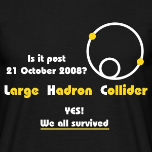 Large Hadron Collider - LHC T-Shirt - Men's T-Shirt