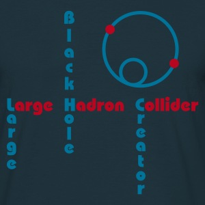 LHC - Black Hole (Various Colours) T-Shirt - Men's T-Shirt