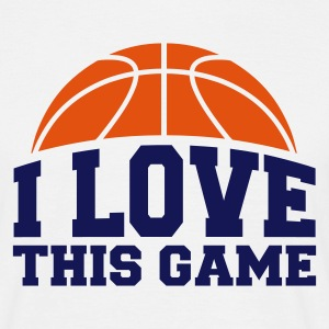 ::I LOVE THIS GAME:: BB1  - Männer T-Shirt