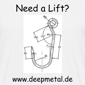 Deep Metal Suspension 1 - Männer T-Shirt