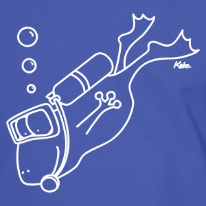 Diving Frog - Men's Ringer Shirt