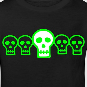 Row of Skulls  - Kids' Organic T-shirt