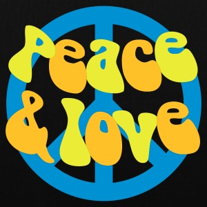 Groovy Peace and Love - Tote Bag