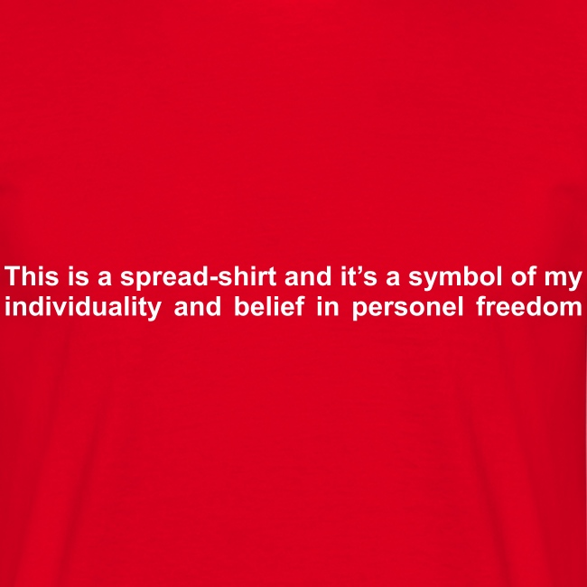Camiseta Be Individual (H) II