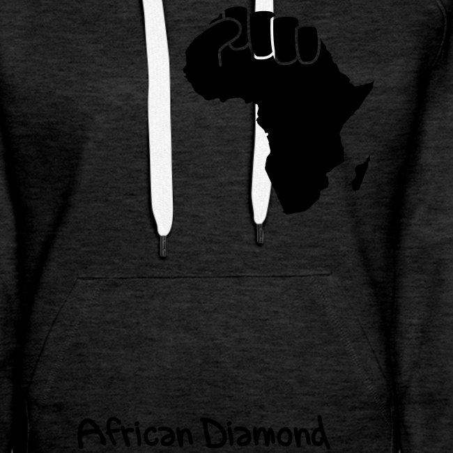 Sweat Woman - African Diamond - proud of my roots