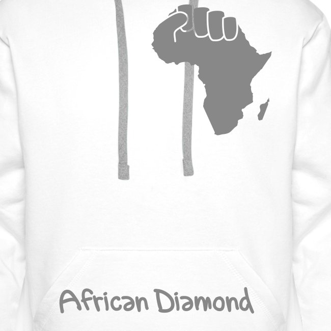 Sweat Man - African Diamond - proud of my roots - argent