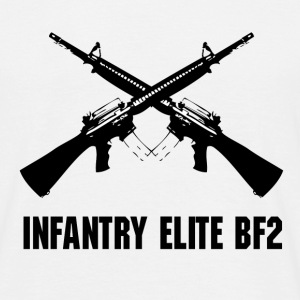 INFANTRY ELITE  - Mannen T-shirt