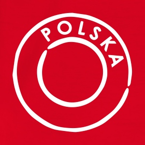 Rood polska Kinder shirts - Teenager T-shirt