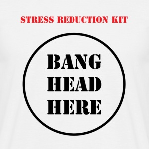 Stress Reduction Kit - Mannen T-shirt