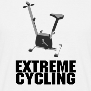 Extreme Cycling - Mannen T-shirt