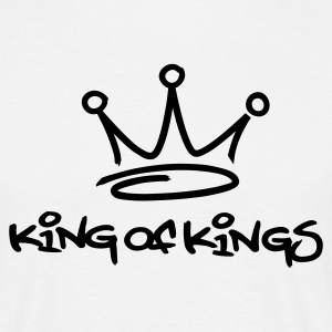 White king of kings T-Shirt - Maglietta da uomo