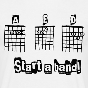 start a band - Men's T-Shirt