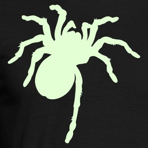 Black Big Spider Men's Tees (short-sleeved) - Men's T-Shirt