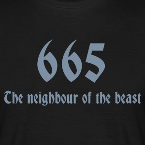 665 T-shirts - Herre-T-shirt