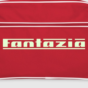 Retro Fantazia Bag. Glow in the dark logo - Retro Bag