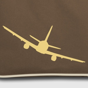 Brown / sand plane Bags  - Retro Bag