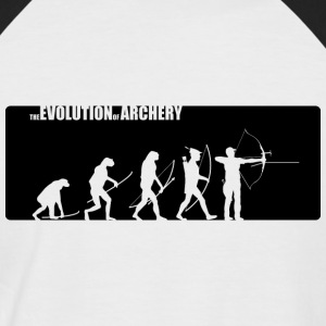 the evolution of archery - Fita Recurve - Männer Baseball-T-Shirt