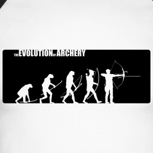 the evolution of archery Fita Recurve  - Männer Baseballshirt langarm